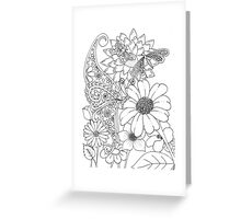 Flies in the Garden Greeting Card
