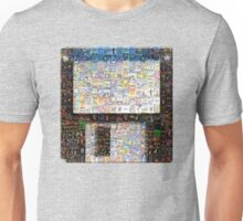 PC Games Floppy Disk or Diskette Mozaik - Retro DOS games fan shirt Unisex T-Shirt
