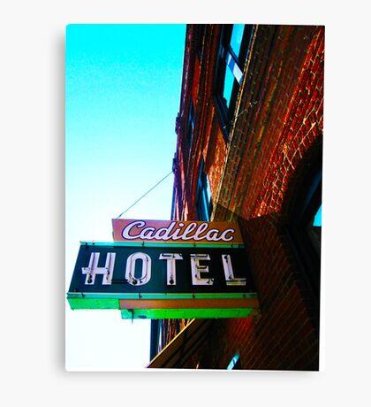 cadillac hotel Canvas Print