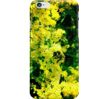 Inas Green Yellow Flowers iPhone Case/Skin