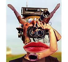 The Photographer Spotter. Photographic Print