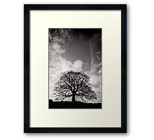 Tree of Triumph - portrait - Kenilworth - Great Britain Framed Print