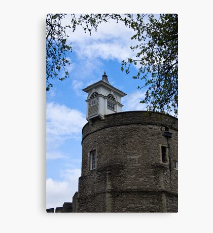 Top of the London Tower - Great Britain Canvas Print