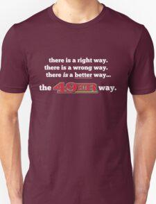 San Francisco 49ers The Niner Way T-Shirt