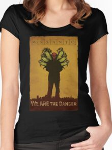 Breaking Monsanto Women's Fitted Scoop T-Shirt