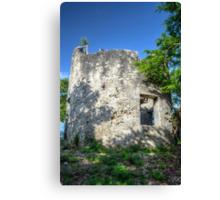 Blackbeard's Tower in Eastern Nassau, The Bahamas Canvas Print
