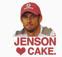 Jenson Loves Cake by brilliantbutton
