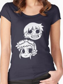 2-Up! Women's Fitted Scoop T-Shirt