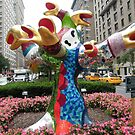 Art Installation and Sculpture, Park Avenue, New York, Niki de Saint Phalle, Artist by lenspiro