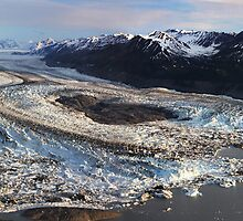 Lowell Glacier by Marty Samis