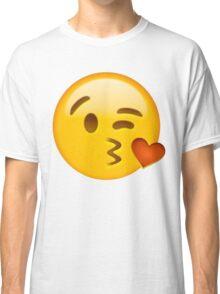Kiss heart emoji Classic T-Shirt