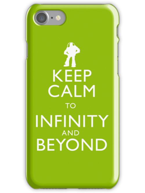 """""""KEEP CALM TO INFINITY AND BEYOND"""" by Justin Oberg"""