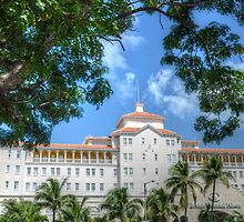 British Colonial Hilton Nassau view from Nassau Court by Jeremy Lavender Photography