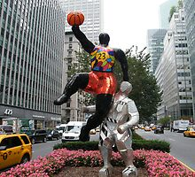 Art Installation and Sculpture, Park Avenue, New York, Niki de Saint Phalle, Artist by lenspiro