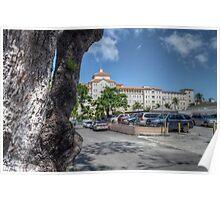 British Colonial Hilton Nassau view from Nassau Court Poster