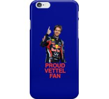 Proud Vettel Fan iPhone Case/Skin