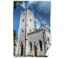 Christ Church Anglican Cathedral in Downtown Nassau, The Bahamas Poster