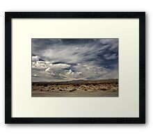 Sweeping Framed Print