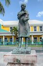 Monument to the Bahamian Woman in Nassau, The Bahamas by Jeremy Lavender Photography