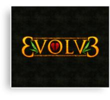 3volv3 LOVE Canvas Print