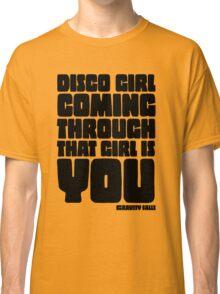Disco Girl Gravity Falls Classic T-Shirt