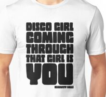 Disco Girl Gravity Falls Unisex T-Shirt