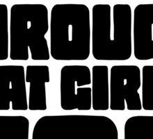 Disco Girl Gravity Falls Sticker