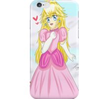 Adorable Chibi Princess Peach iPhone Case/Skin