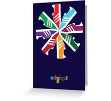 Original Colour Greeting Card