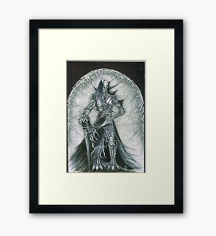 Dark knights; Psyberman 1st Framed Print