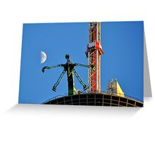 Ride To The Stratosphere Greeting Card