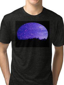 Winters Night Tri-blend T-Shirt