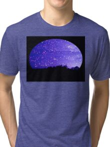 Winters Night Tri-blend T-Shirt
