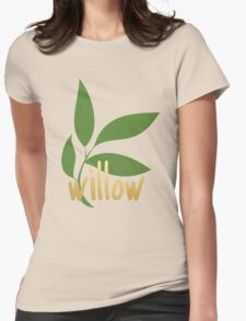TK Alum Willow Womens Fitted T-Shirt