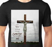 All Things Through Christ -Inspirational  Unisex T-Shirt