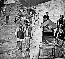 A Rainy Day in Kathmandu by Valerie Rosen