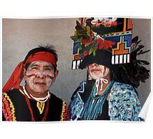 Hopi Harvest Dance-Butterfly Dance Poster