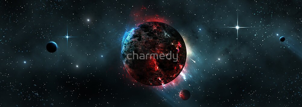 Volcanic Planet by charmedy
