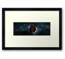 Volcanic Planet Framed Print
