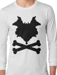 The Blot & Crossbones (Black) Long Sleeve T-Shirt