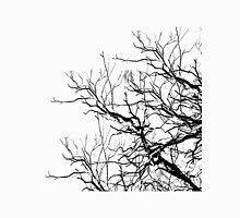Tree Limbs 2 Black and White Unisex T-Shirt