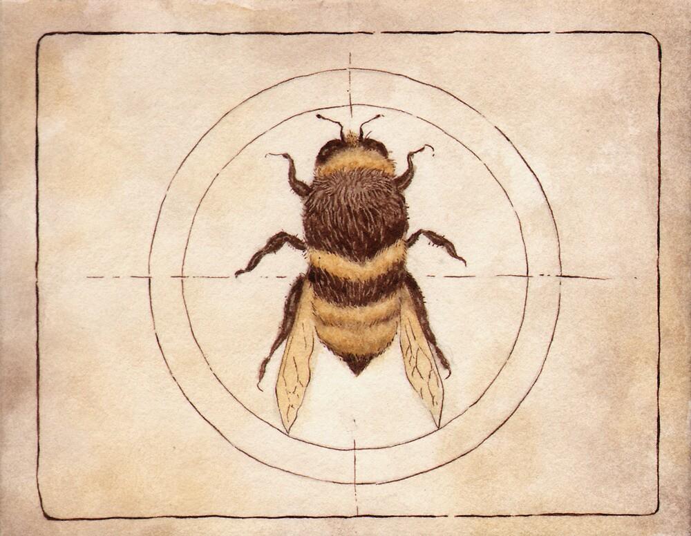 Bee by elykpaint