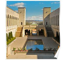 The Memorial Courtyard Poster