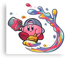Painting Kirby Canvas Print