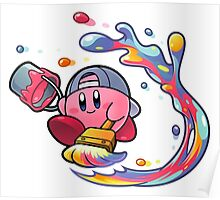 Painting Kirby Poster