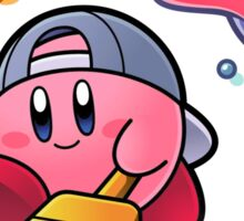 Painting Kirby Sticker