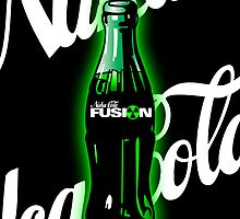 Nuka Cola Fusion Bottle Art by spyderjava