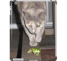Feline on the Hunt ?  iPad Case/Skin
