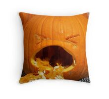 BARF!!!! Throw Pillow