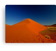 the red sand dune Canvas Print